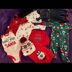 Newborn Baby Christmas lot. Smoke free home.
